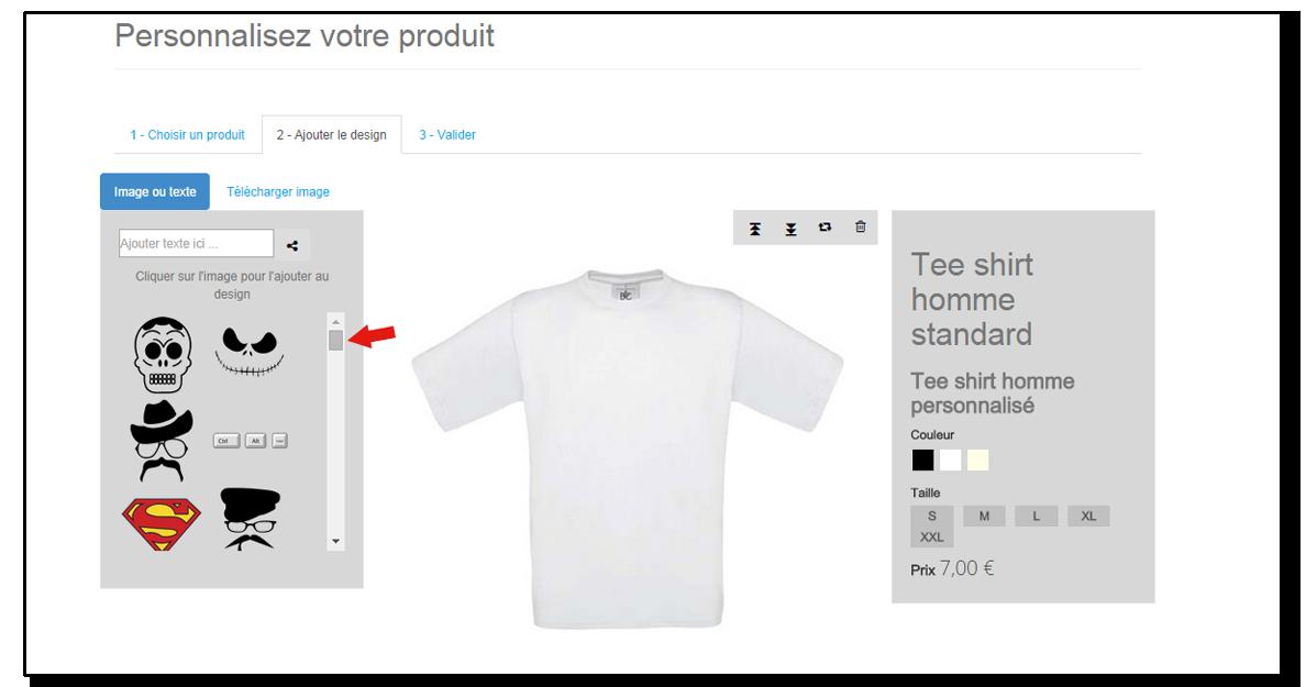 Personnalisation de t-shirt : tuto pas à