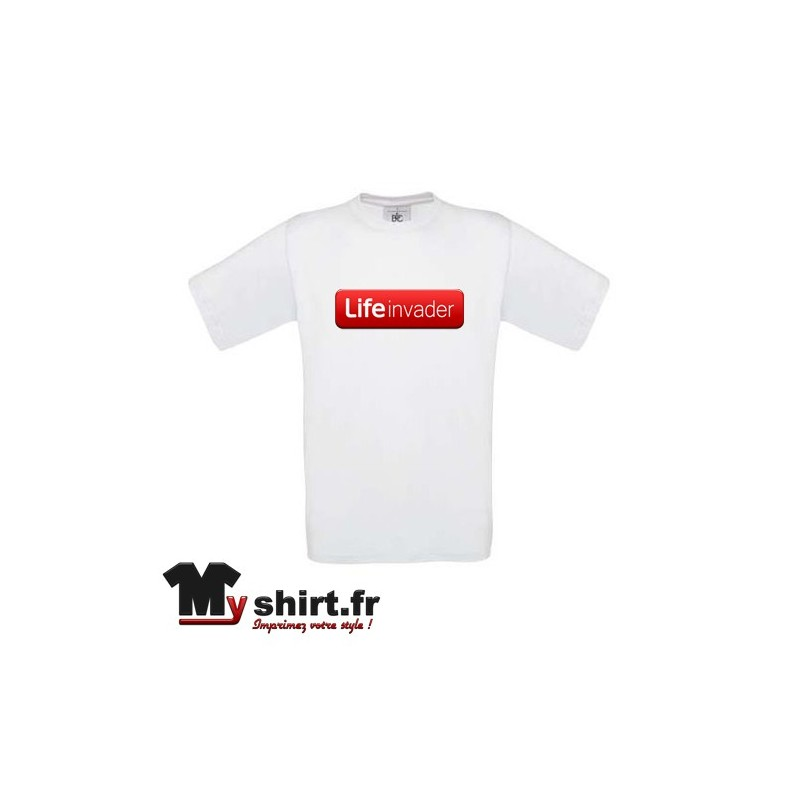 Tee shirt GTA life invader