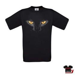 tee shirt yeux de chat