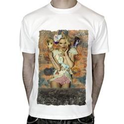 T-shirt-graphique-femme-serpent