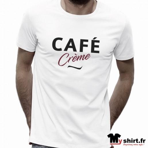 t shirt café crème