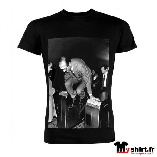 t shirt chirac métro