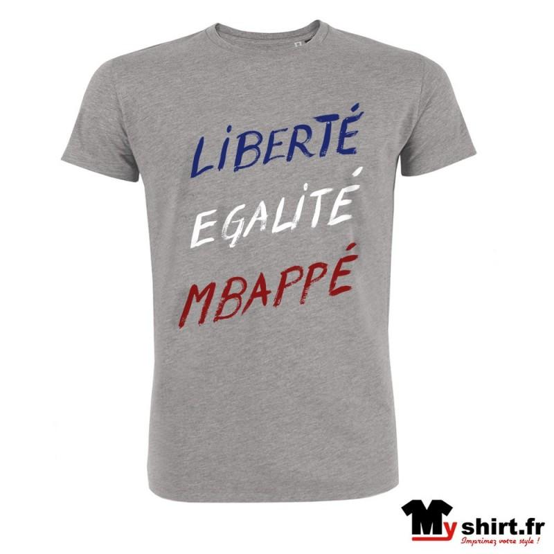 t shirt liberté égalité mbappé