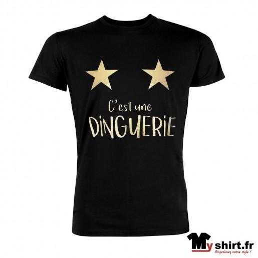 t shirt dinguerie deux étoiles