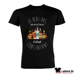t-shirt humour alcool