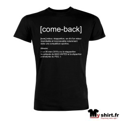 t shirt remontada come back