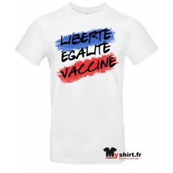 tshirt pass sanitaire vacciné
