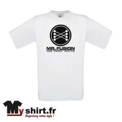 t shirt mr fusion retour vers le future
