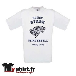 t-shirt stark game of throne