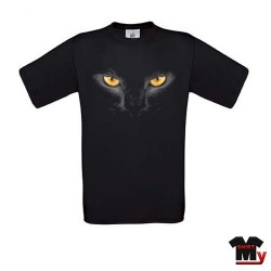 tee shirt yeux de chat