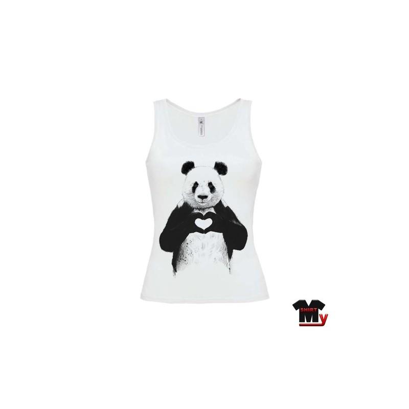 t shirt femme Panda