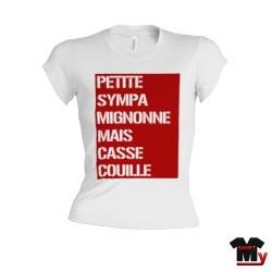 t shirt femme humour sympa