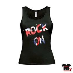 Débardeur femme Rock on