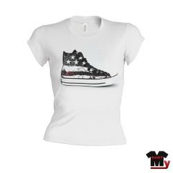 T shirt femme Converse