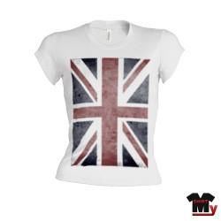 T shirt femme Union Jack