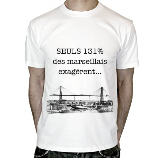 T shirt Marseillais