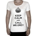 T-shirt-Keep-calm-and-call-Mr-Grey