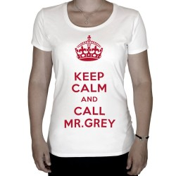 T-shirt-keep-calm-and-call-mr-grey-rouge