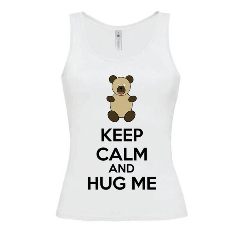 Débardeur Keep calm and Hug me