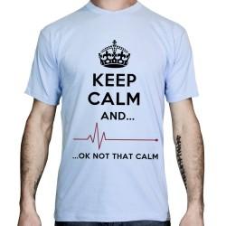 T-shirt-humour-keep calm