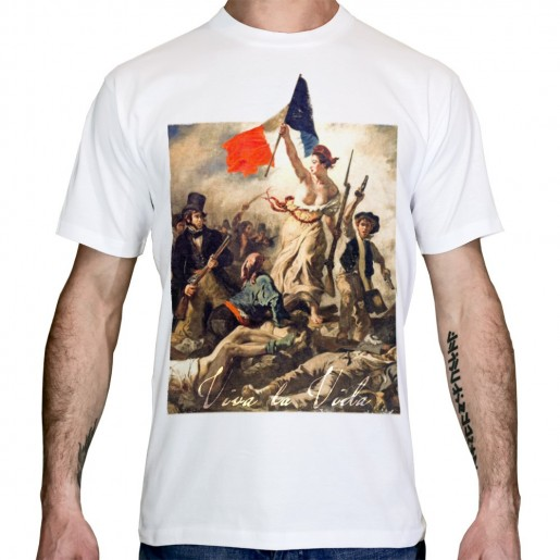 T-shirt liberte guidant le peuple