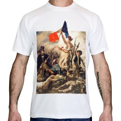 T-shirt-liberte-guidant le peuple