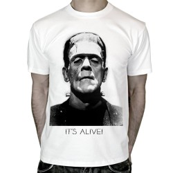 T-shirt-Frankenstein