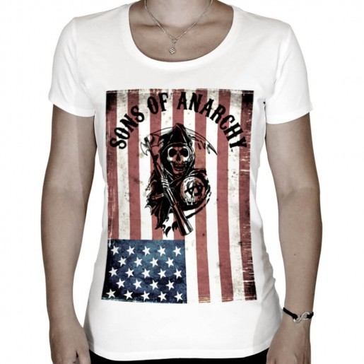 T-shirt Sons of Anarchy Femme