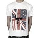 T-shirt-tete-de-mort-Drapeau