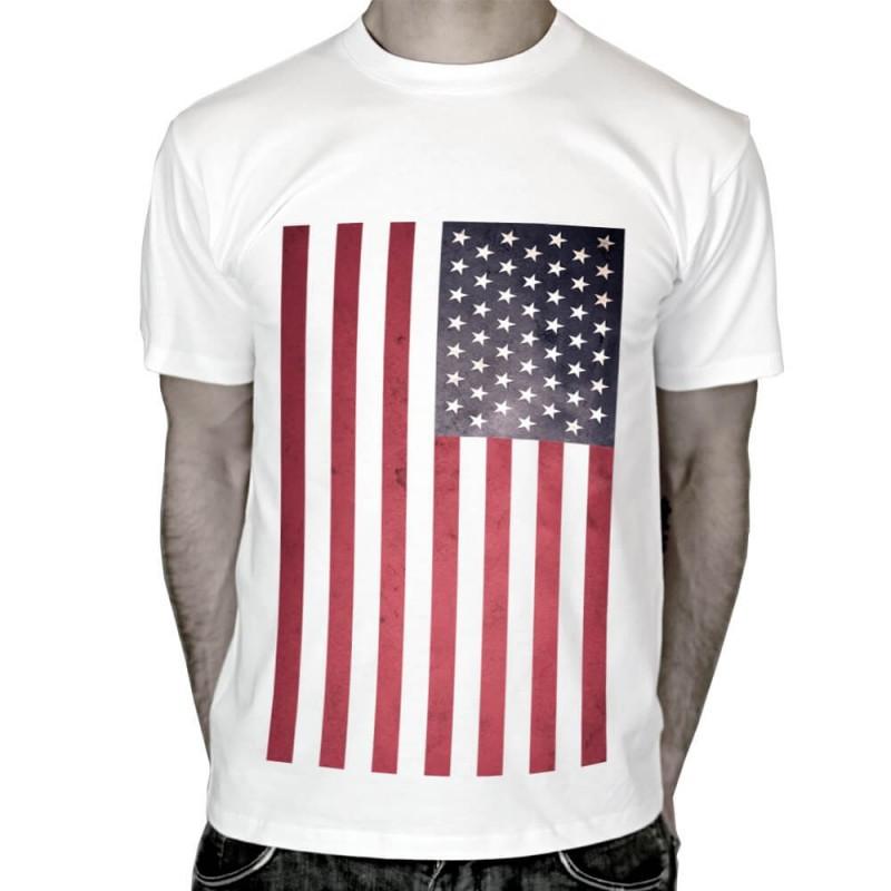 T-shirt-drapeau-Américain