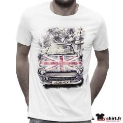 T-shirt-Homme-voiture-vintage