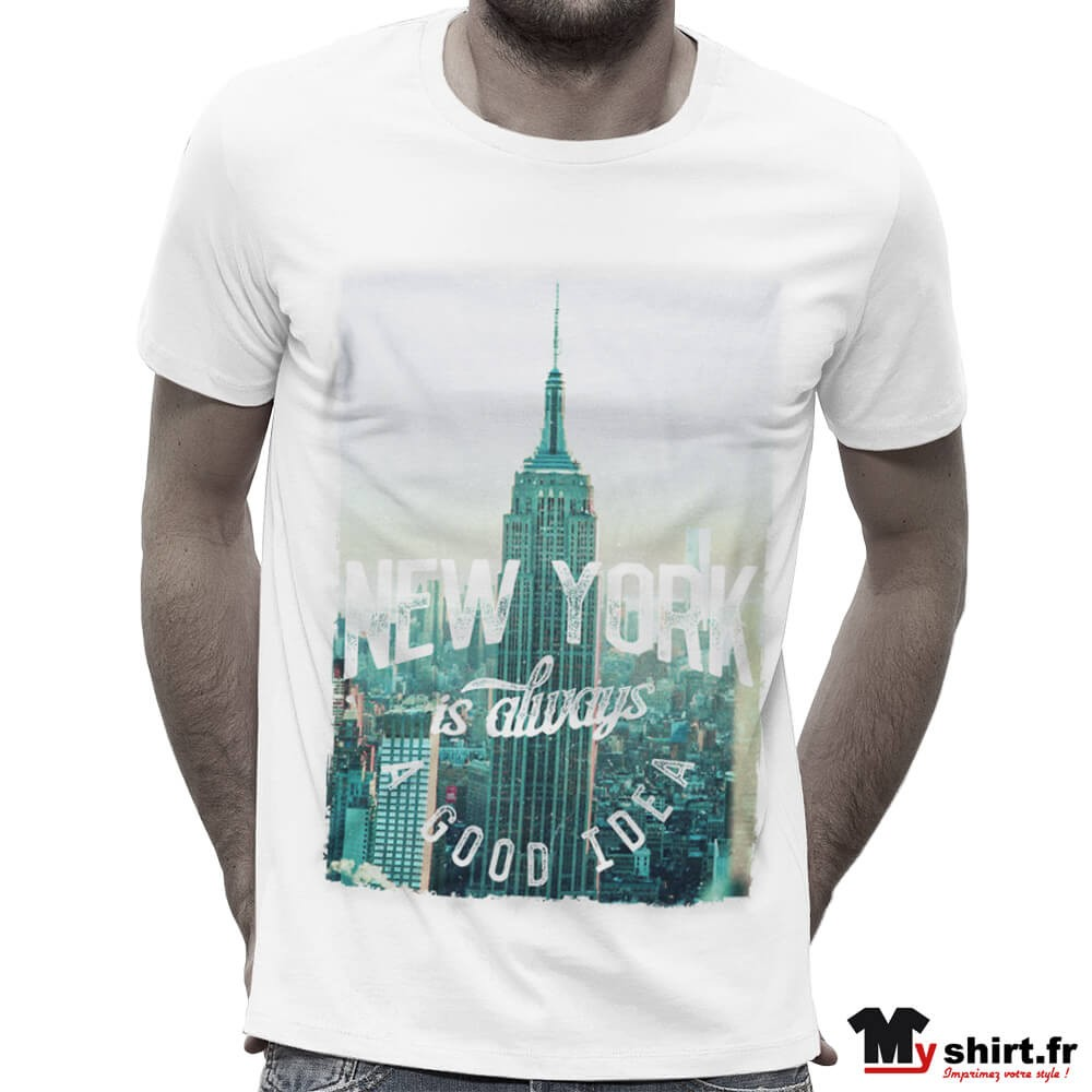 Empire Vintage Shirt State York T New Building QCoreWdxB