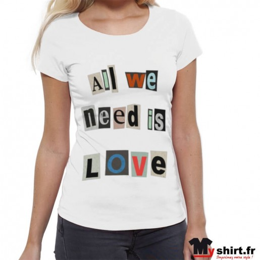 T-shirt-All-we-need-is-love