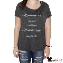 t shirt flemmarde