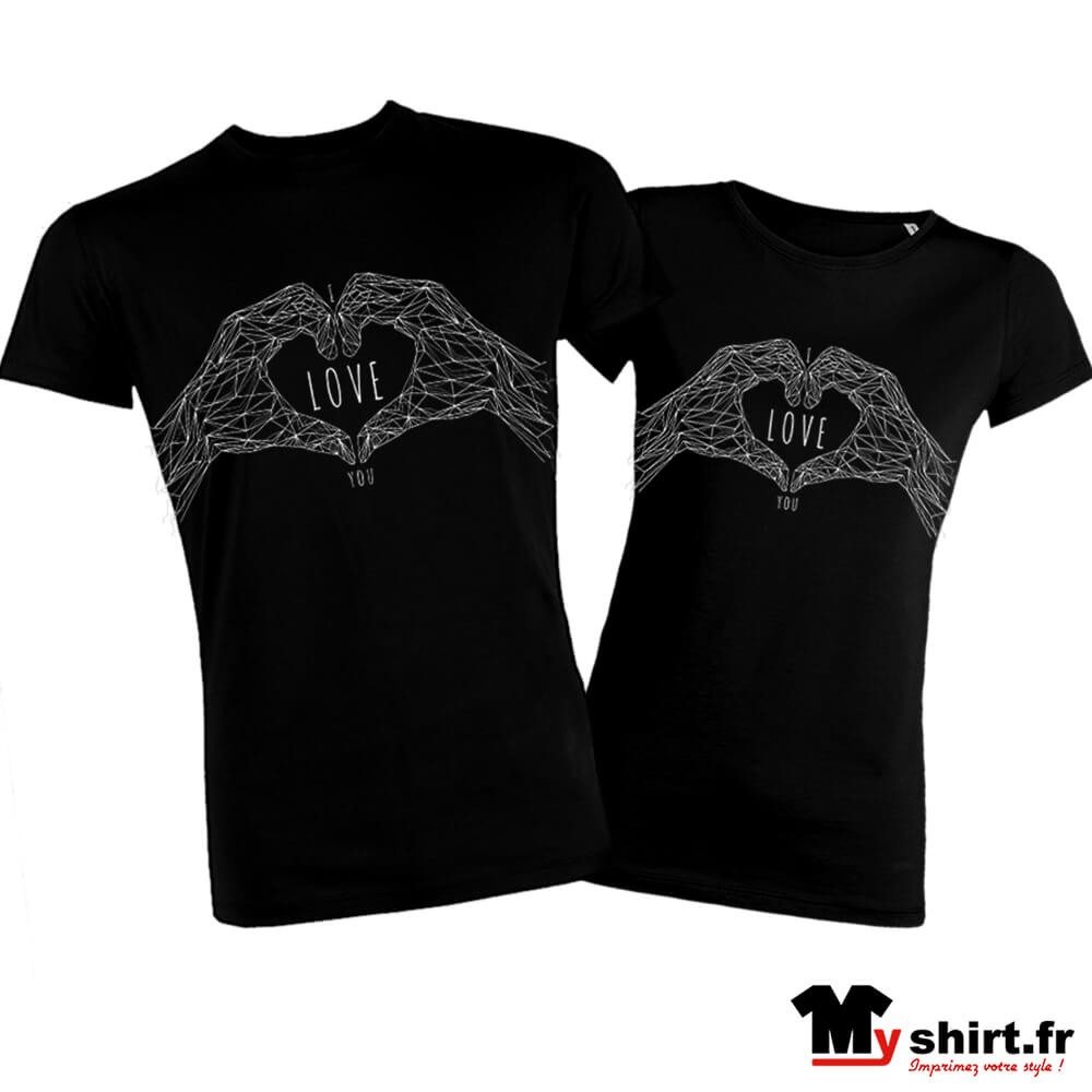 Design T Shirts For Couples Joe Maloy