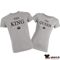 T-shirt-couple-king-queen