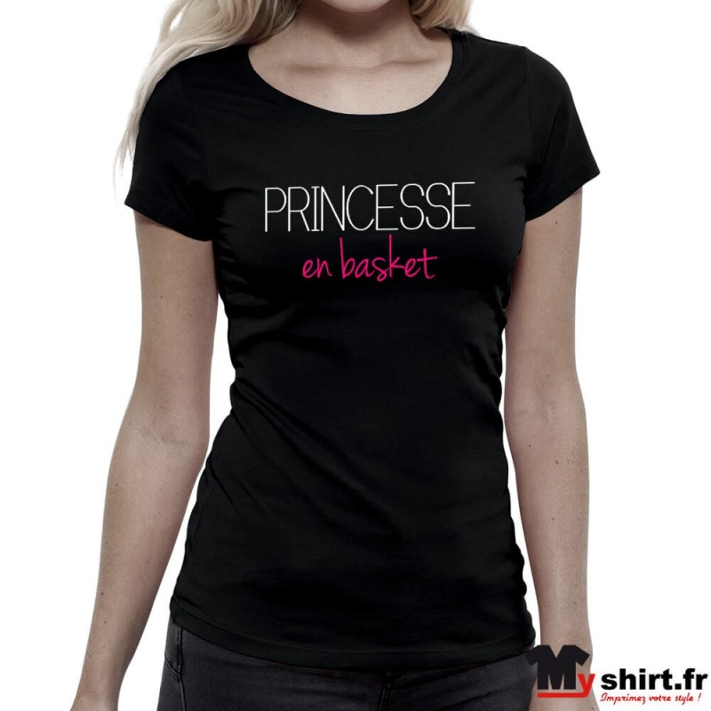 T-shirt-Princesse-en-Basket