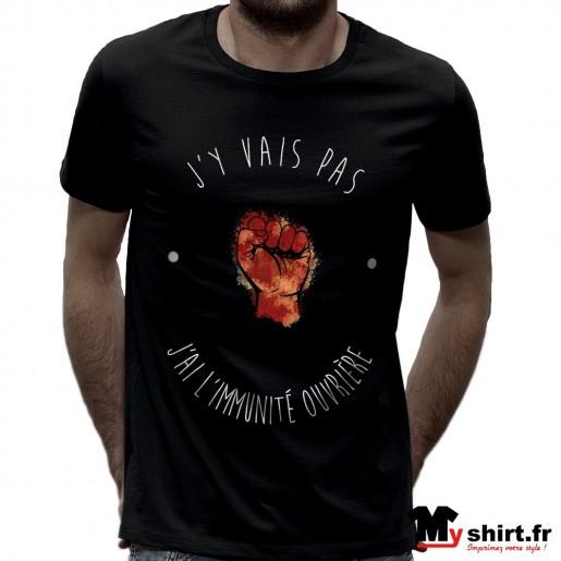 t shirt immunité ouvrière