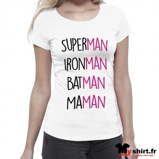t shirt super maman