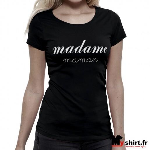 t shirt madame maman