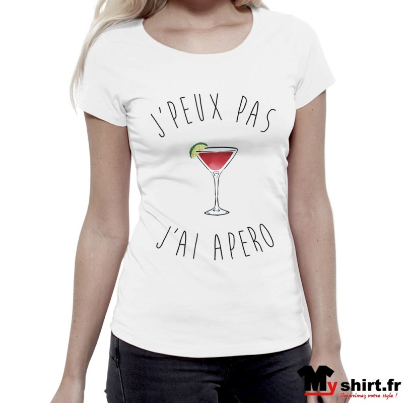 211131ae3 t shirt apero femme