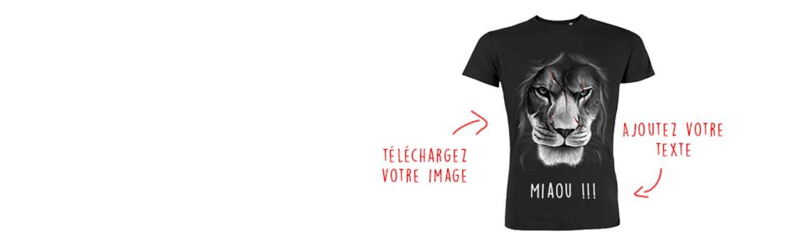 t shirt personnalisé - Myshirt